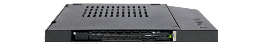 "Rack móvil sATA para unidades 2.5"" SSD/HDD de hasta 9,5mm en bahía ultra slim CD/DVD ICY DOCK ToughArmor MB411SPO-2B Review"
