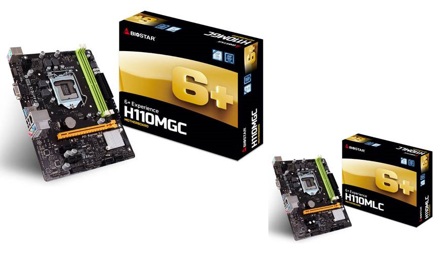 BIOSTAR Announces GbE Equipped Motherboards for High-Speed