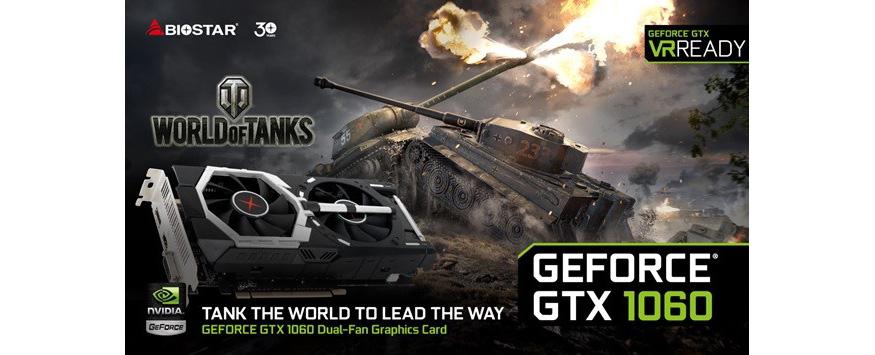 BIOSTAR Announces its GeForce GTX 1060 Dual Fan Graphics ...