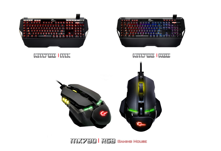 G SKILL Showcases Ripjaws Series Mechanical Keyboard, Gaming